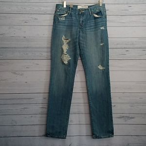 Abercrombie and Fitch Erin Jeans size 6L 28x35
